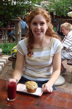 Augusta Eating at Organic Market.jpg